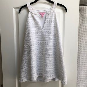 Lilly Pulitzer white tank